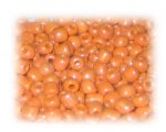 6/0 Apricot Opaque Glass Seed Beads, 1 oz. bag