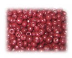 6/0 Brick Brown Opaque Glass Seed Beads, 1 oz. bag