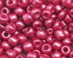 6/0 Ruby Red Ceylon Glass Seed Bead, 1oz. bag