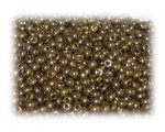 11/0 Deep Gold Metallic Glass Seed Beads, 1 oz. bag
