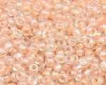 11/0 Apricot Luster Glass Seed Bead, 1oz. bag