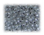 6/0 Dark Silver Ceylon Glass Seed Beads, 1 oz. bag