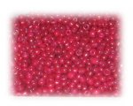 11/0 Red Pink Opaque Glass Seed Beads, 1 oz. bag