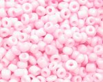 11/0 Baby Pink Opaque Glass Seed Bead, 1oz. bag