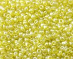 11/0 Yellow Transparent Glass Seed Bead, 1oz. bag