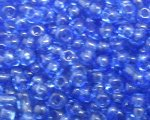 11/0 Royal Blue Transparent Glass Seed Bead, 1oz. bag