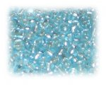 6/0 Baby Blue Silver-Lined Glass Seed Beads, 1 oz. bag