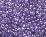 11/0 Purple Transparent Glass Seed Bead, 1oz. bag