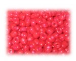 6/0 Bright Red Opaque Glass Seed Beads, 1 oz. bag