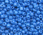 11/0 Cornflower Blue Opaque Glass Seed Bead, 1oz. bag