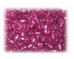 6/0 Fuchsia Silver-Lined Glass Seed Beads, 1 oz. bag