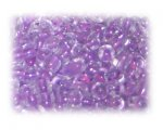6/0 Lilac Inside-Color Glass Seed Beads, 1 oz. bag