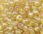 6/0 Gold Luster Glass Seed Bead, 1oz. bag