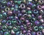 6/0 Blue Luster Glass Seed Bead, 1oz. bag