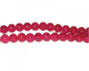 8mm Cuprite-Style Glass Bead, approx. 53 beads