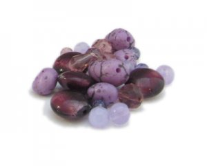 Approx. 1.5 - 2oz. Lilac Dream Bead Mix