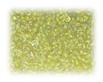 11/0 Yellow Inside-Color Glass Seed Beads, 1 oz. bag