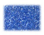 11/0 Blue Inside-Color Glass Seed Beads, 1 oz. bag