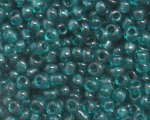 11/0 Dark Teal Transparent Glass Seed Bead, 1oz. bag