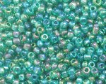 11/0 Dark Green Luster Glass Seed Bead, 1oz. bag