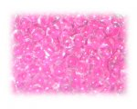 6/0 Fuchsia Inside-Color Glass Seed Beads, 1 oz. bag