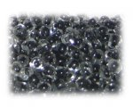 6/0 Black Inside-Color Glass Seed Beads, 1 oz. bag