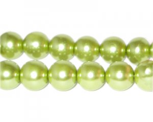 12mm Meadow Glass Pearl Bead, approx. 18 beads