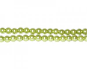 4mm Meadow Glass Pearl Bead, approx. 113 beads