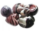 Approx 1.5oz. Purple Lampwork Mix2
