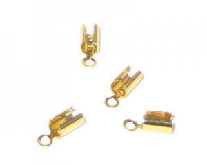 4 x 8mm Gold Terminators - approx. 34