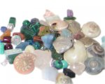 10 - 30mm Mixed Heavy, Unusual Metal Beads - 4 beads