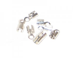 6 x 10mm Silver Terminators - approx. 20