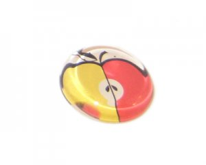22mm Retro flat-back Cabochon, no hole
