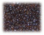 11/0 Brown Transparent Glass Seed Beads, 1 oz. Bag