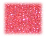 11/0 Red Opaque Luster Glass Seed Beads, 1 oz. Bag