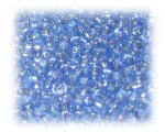 11/0 Dark Blue Silver-Lined Glass Seed Beads, 1 oz. Bag