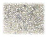 11/0 Silver Silver-Lined Glass Seed Beads - 1 oz. Bag