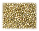 11/0 Gold Metallic Matte Glass Seed Beads - 1 oz. Bag