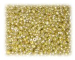 11/0 Bright Gold Metallic Glass Seed Beads - 1 oz. Bag