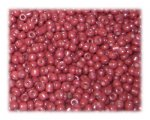 11/0 Brick Red Opaque Glass Seed Beads - 1 oz. Bag