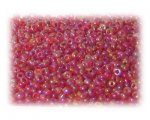 11/0 Berry Rainbow Luster Glass Seed Beads - 1 oz. Bag