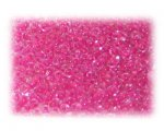 11/0 Fuchsia Inside-Color Glass Seed Beads - 1 oz. Bag