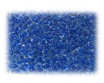 11/0 Dark Blue Inside-Color Glass Seed Beads - 1 oz. Bag