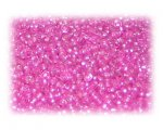 11/0 Fuchsia Silver-Lined Glass Seed Beads - 1 oz. Bag