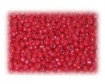 11/0 Red Opaque Glass Seed Beads - 1 oz. Bag