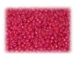 11/0 Pinky-Red Opaque Glass Seed Beads - 1 oz. Bag