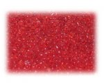 11/0 Strawberry Red Transparent Glass Seed Beads - 1 oz. Bag