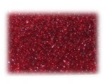 11/0 Red Transparent Glass Seed Beads - 1 oz. Bag