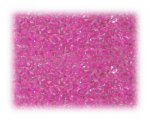 11/0 Deep Pink Inside-Color Glass Seed Beads - 1 oz. bag