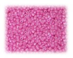 11/0 Bright Pink Opaque Glass Seed Beads, 1 oz. bag